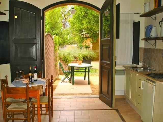 Abruzzo Vakantie Agriturismo Appartement Keuken ABV0120D