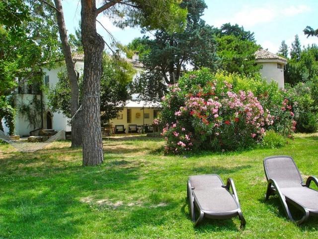 Abruzzo Agriturismo Vakantie Tuin 2 ABV0120