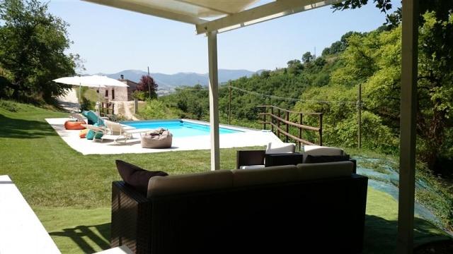 Appartement Voor 4p Met Zwembad Bij Fabriano 44