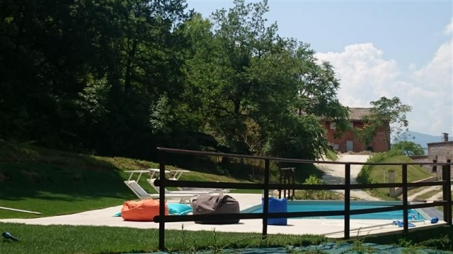 Appartement Voor 4p Met Zwembad Bij Fabriano 46