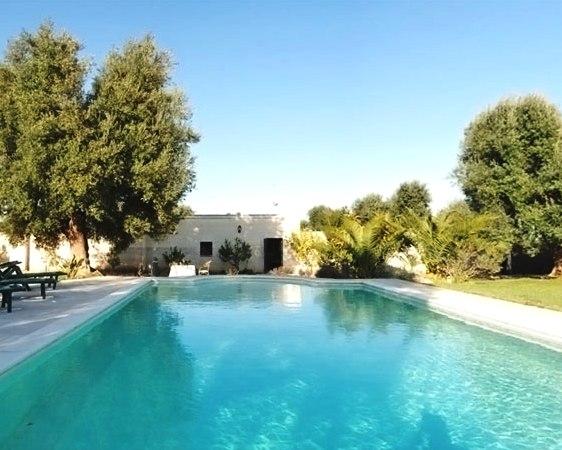 Kleine Villa Op Landgoed Met Zwembad In Puglia 22