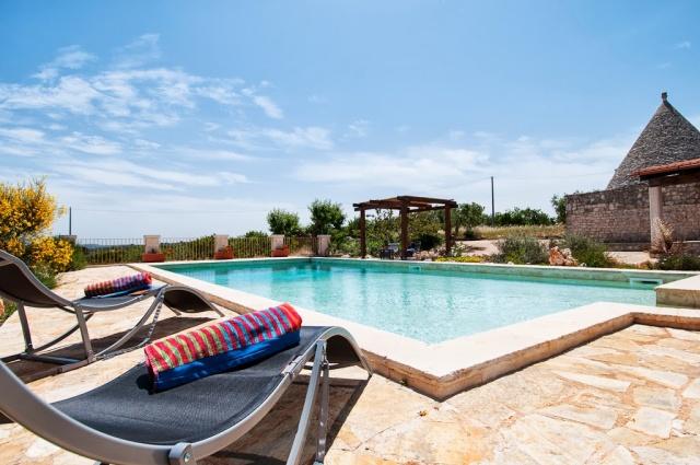 Leuke Trullo Voor 6p Met Pool In Puglia 32