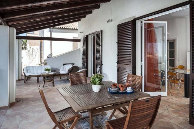Marsala Sicilie Vakantiewoning Direct Aan Zee Met Zwembad 131