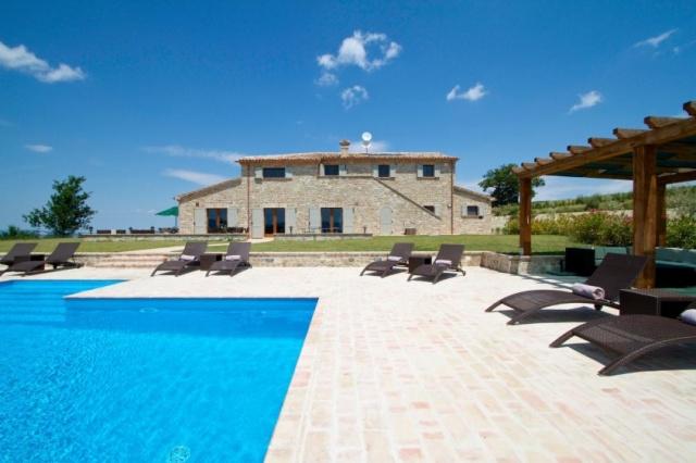 Moderne Villa Groot Zwembad Le Marche 2