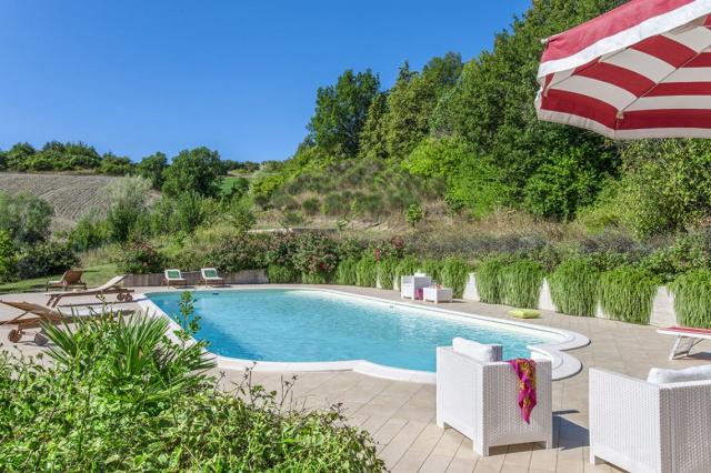 Noord Le Marche Urbino Villa Zwembad 2a