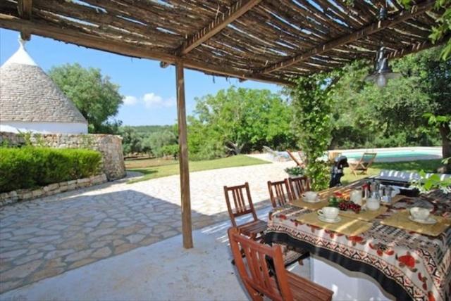 Originele Trullo Voor 8p Met Pool In Puglia 1