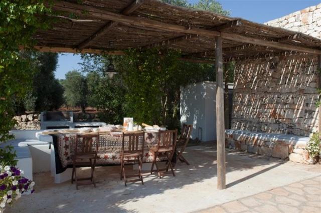 Originele Trullo Voor 8p Met Pool In Puglia 13