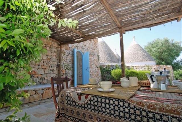 Originele Trullo Voor 8p Met Pool In Puglia 2