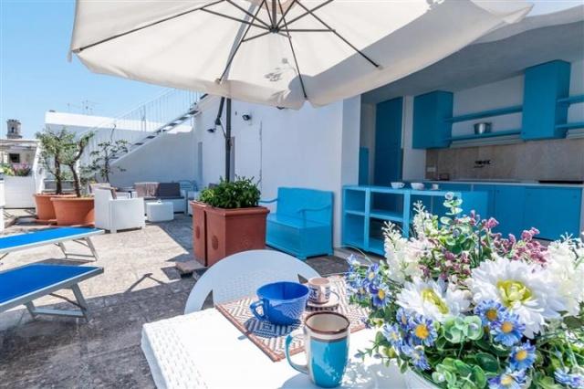 Penthouse Appartement Voor 6p Monopoli Puglia 17