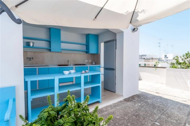 Penthouse Appartement Voor 6p Monopoli Puglia 20