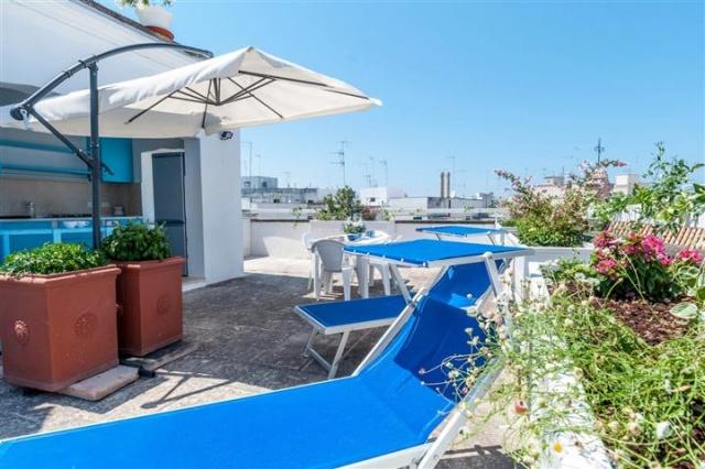 Penthouse Appartement Voor 6p Monopoli Puglia 43