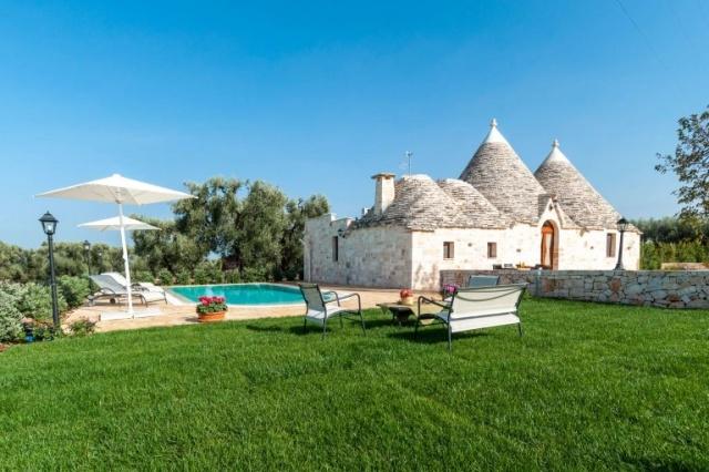 Puglia Vakantie Trullo Prive Zwembad Nabij Kust 1