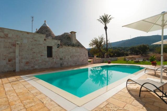 Puglia Vakantie Trullo Prive Zwembad Nabij Kust 5