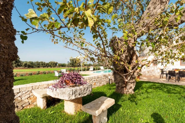 Puglia Vakantie Trullo Prive Zwembad Nabij Kust 9