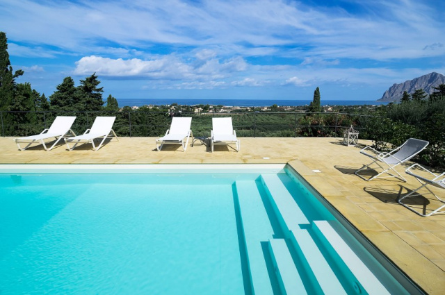 Sicilie Trapani Villa Voor 5 Met Zwembad 1