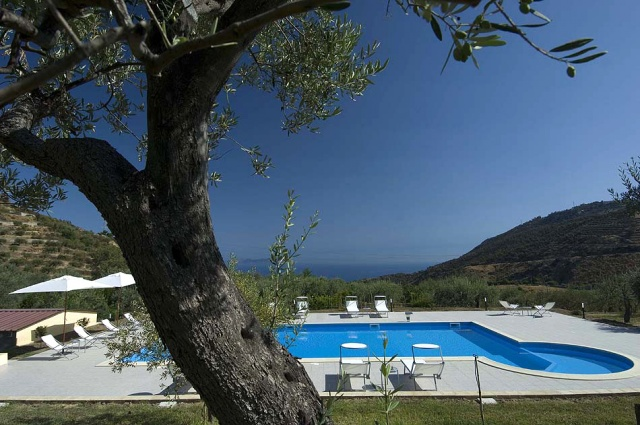 Sicilie Kleinschalige Agriturismo NabijPatti Met Zeezicht En Zwembad 4