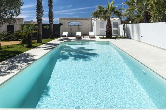 Sicilie Marsala Vakantieappartemet Strand Locatie Met Zwembad 4