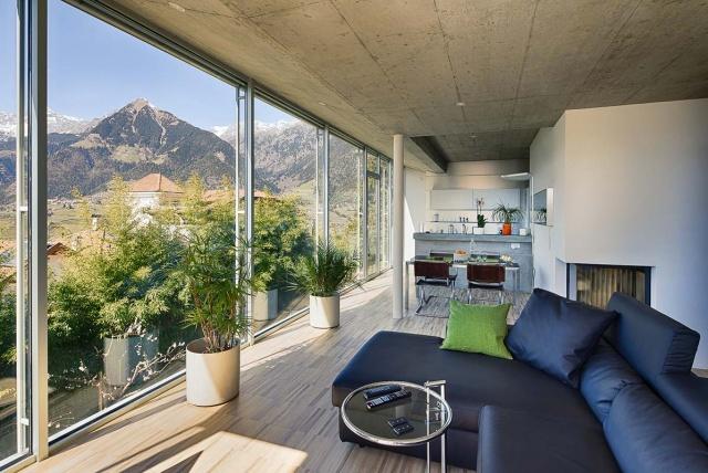 Sud Tirol SChenna Top Vakantie Appartement Met Prachtig Uitzicht 6