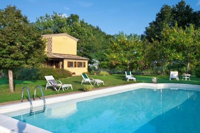 Vakantie Villa Le Marche Zwembad 8