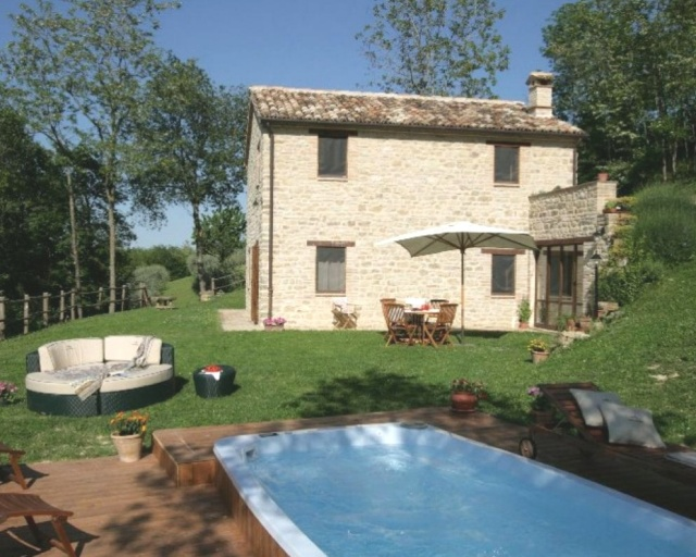 Vakantie Huis Voor 8p Le Marche1