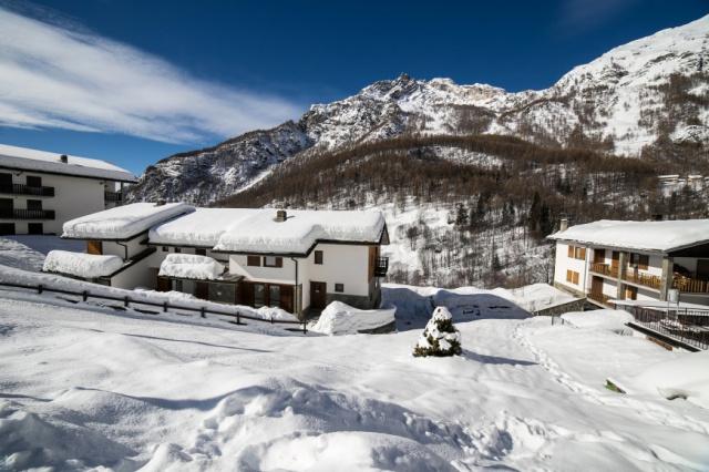 Val D Aosta Valtournenche Ski En Wandelgebied 1
