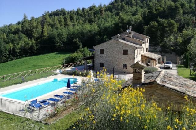 Villa Met Zwembad Voor 11p In Montelparo Le Marche 22