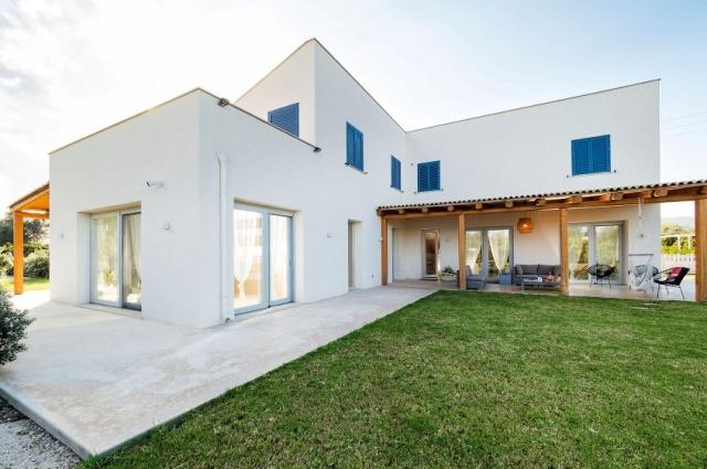 Zeer Luxe Villa Zwembad Zee Sicilie 12
