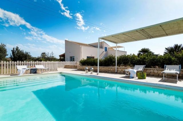 Zeer Luxe Villa Zwembad Zee Sicilie 2