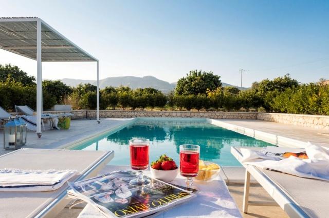 Zeer Luxe Villa Zwembad Zee Sicilie 5