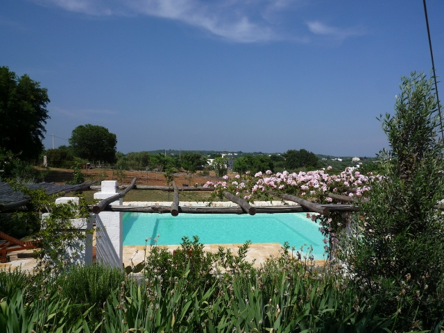 Lamie En Trulli Complex Met Gedeeld Zwembad Istria Vallei Puglia Zuid Italie 1