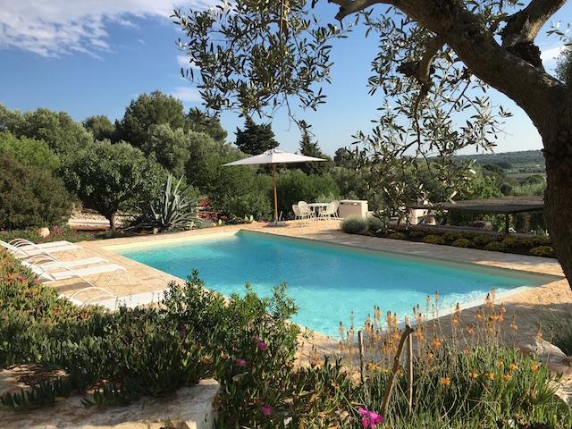 Ostuni Trullo Vakantiehuis Met Zwembad En Uitzicht 1
