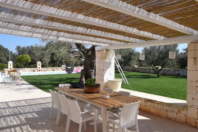 Puglia Trullo Vrijstaand Met Eigen Zwembad Voor 6 Personen 10