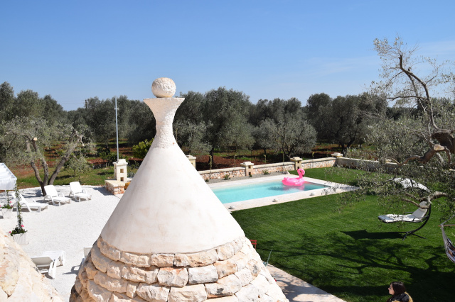 Puglia Trullo Vrijstaand Met Eigen Zwembad Voor 6 Personen 33