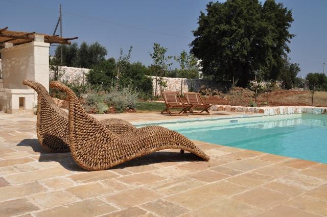 Trullo Complex Met Lamie En Gedeeld Zwembad Itria Vallei Zuid Italie Puglia 1